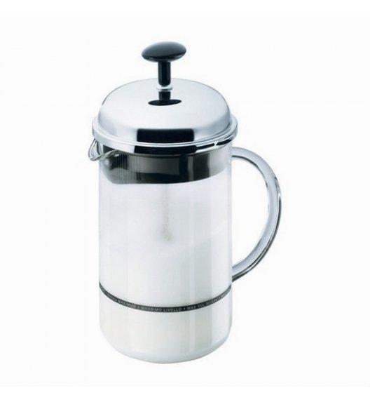 BODUM CHAMBORD Spieniacz do mleka z rączką 0,25 l / srebrny / Btrzy