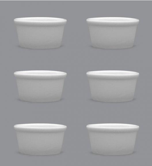LUBIANA AMERYKA Komplet Czarki degustacyjne / na przystawki 100 ml / 6 szt./ porcelana