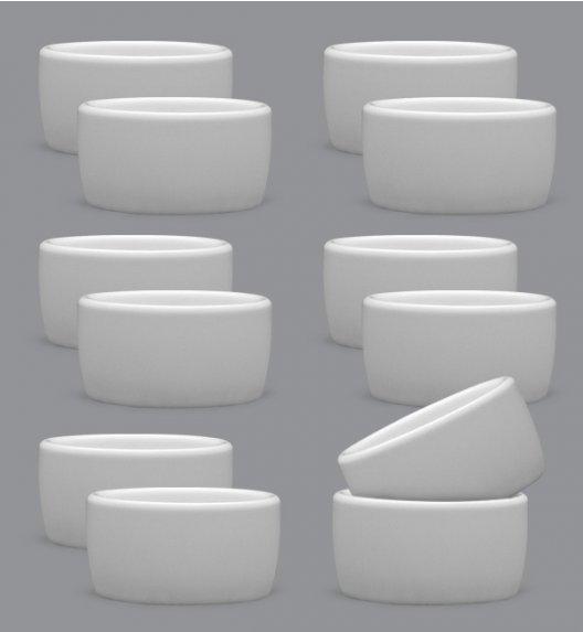 LUBIANA AMERYKA Komplet Czarki degustacyjne / na przystawki 50 ml / 12 szt / porcelana