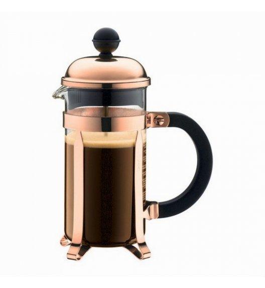 BODUM CHAMBORD Zaparzacz do kawy 0,35 l french press / miedziany / szkło / Btrzy
