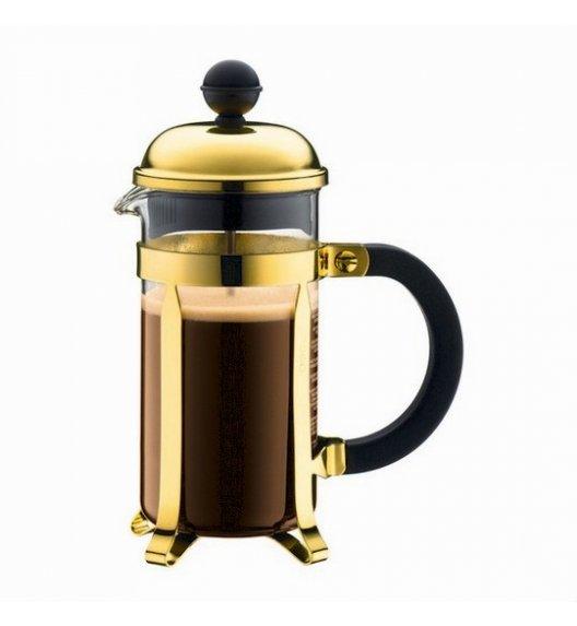 BODUM CHAMBORD Zaparzacz do kawy 0,35 l french press / złoty / szkło / Btrzy