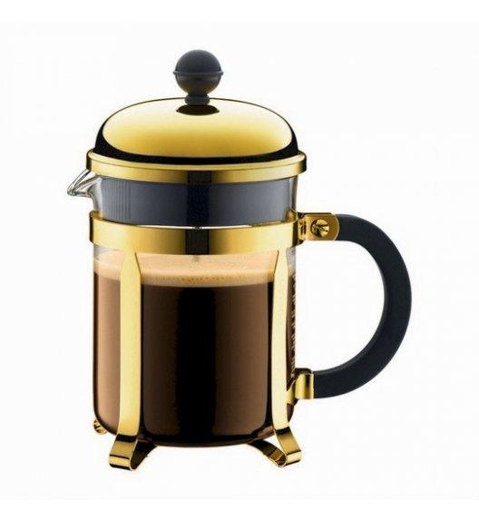 BODUM CHAMBORD Zaparzacz do kawy 0,5 l french press / złoty / szkło / Btrzy