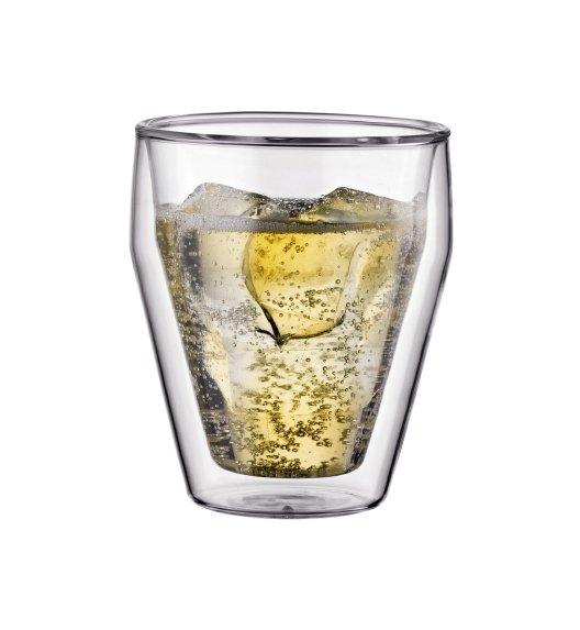 BODUM TITLIS Komplet 2 wysokich szklanek 0,25 l / podwójne ścianki / Btrzy
