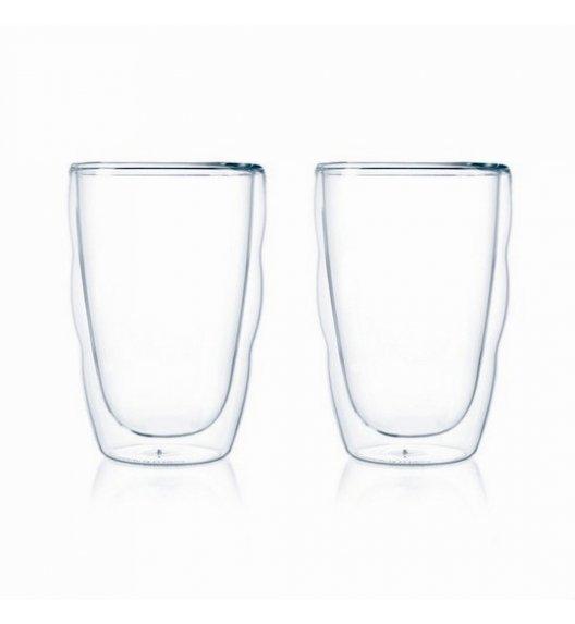 BODUM PILATUS Komplet 2 szklanek 350 ml / podwójne ścianki / Btrzy