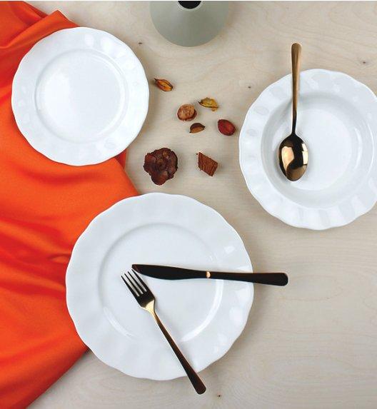 KAROLINA CHARLOTTA-FBC Serwis obiadowy 36 elementów / 12 osób / porcelana