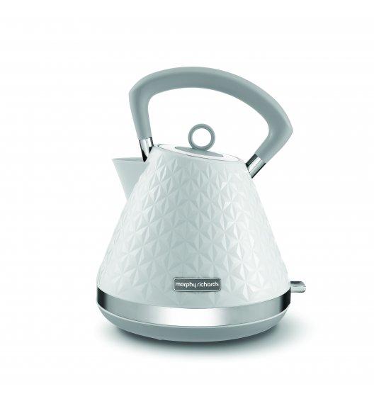 MORPHY RICHARDS VECTOR PIRAMID Czajnik elektryczny biały 1,5 L / Tworzywo sztuczne / BPA FREE / 108134