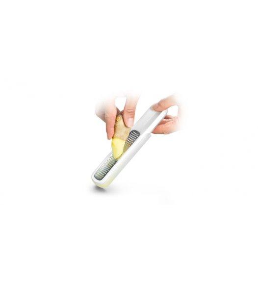 TESCOMA HANDY Tarka i zaparzacz do imbiru X-sharp 19 x 3,5 x 2cm stal nierdzewna/ biały