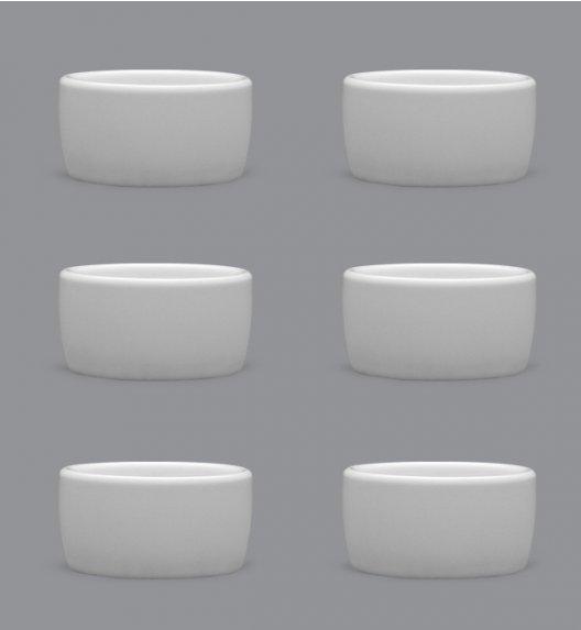 LUBIANA AMERYKA 18 x czarka degustacyjna / na przystawki 50 ml / porcelana