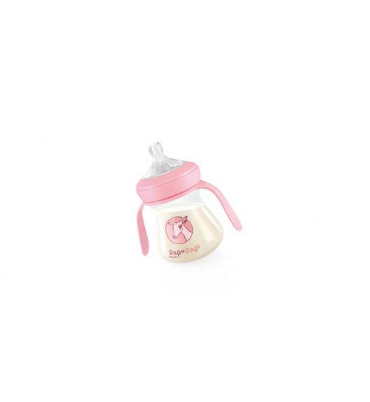 TESCOMA PAPU PAPI Antybakteryjna butelka nanoCARE 150ml  11,05 x 12,5 x 7cm różowa