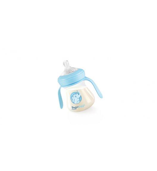 TESCOMA PAPU PAPI Antybakteryjna butelka nanoCARE 150ml  11,05 x 12,5 x 7cm niebieska