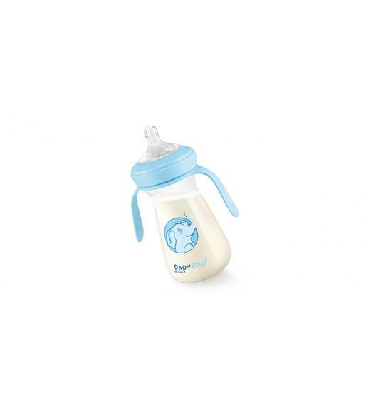 TESCOMA PAPU PAPI Antybakteryjna butelka nanoCARE 250ml  11,5 x 16,5 x 7cm niebieska