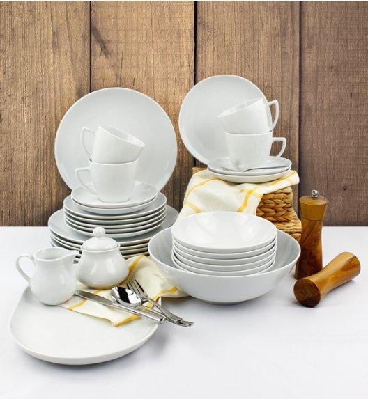 LUBIANA BOSS BEATA Serwis obiadowo - kawowy 64 el / 12 osób / porcelana
