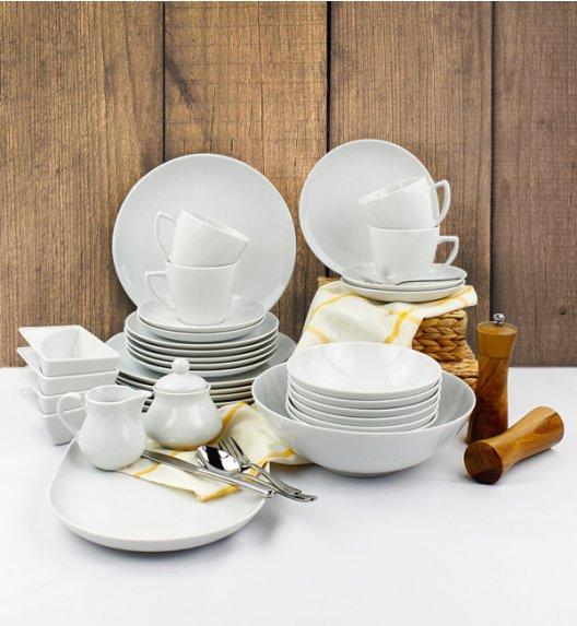 LUBIANA BOSS BEATA Serwis obiadowo - kawowy 68 el / 12 osób / porcelana