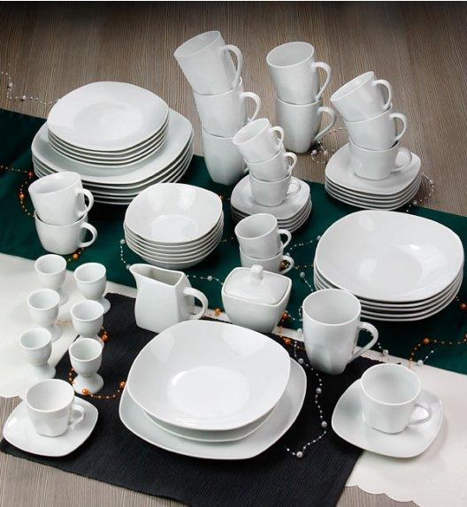 ARZBERG MERCURY Niemiecki serwis obiadowo-kawowy + Lubiana 65 el / 6 os / porcelana + GRATIS!