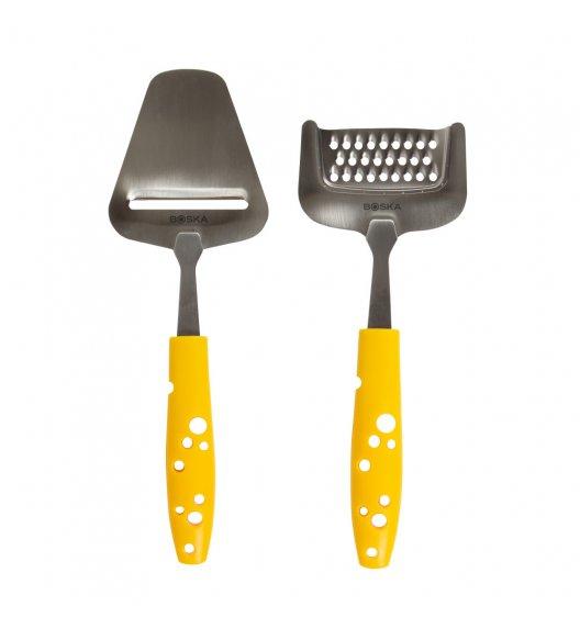 BOSKA CHEESY  Zestaw nóż łopatka + tarka krótka/ LENA