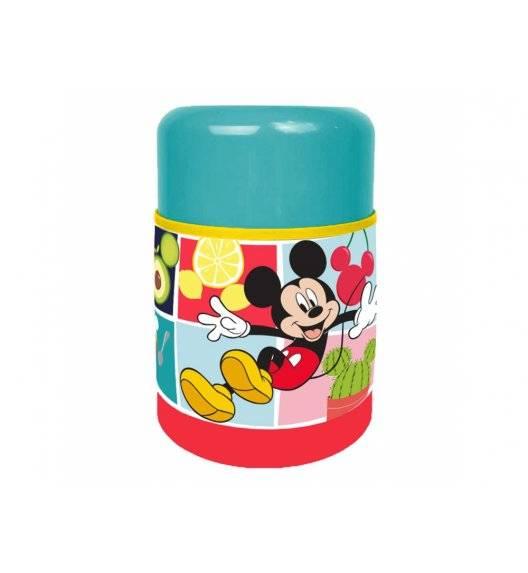 DISNEY Termos obiadowy Mickey Everywhere / 500 ml / stal, tworzywo sztuczne