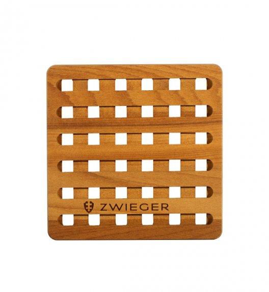 ZWIEGER PRACTI PLUS Podkładka pod gorące naczynia 18 x 18 x 11 cm/ Drewno bukowe