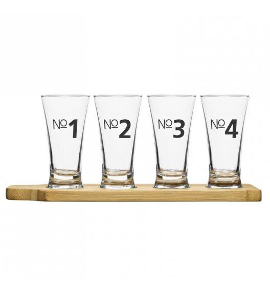 WYPRZEDAŻ! SAGAFORM BAR CLUB Zestaw kieliszków do degustacji piwa + podstawka  / FreeForm