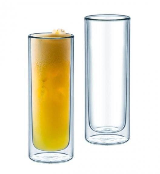 AMBITION MIA Komplet 2 szklanek termicznych wysokich 330 ml