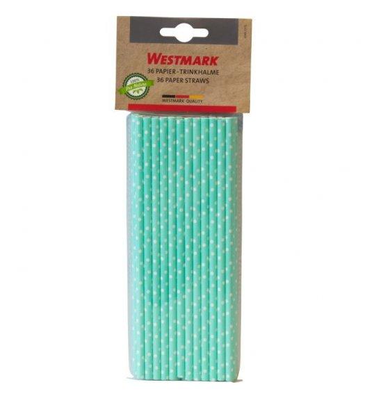 WESTMARK Eco słomki do napojów 36 szt. / biodegradowalne / zielone w krpoki
