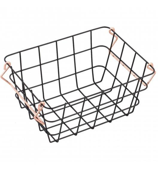 STARKE HARPER Koszyk do przechowywania 30 x 21 cm / czarny