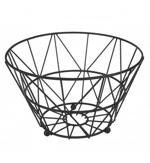 TADAR TULUM Koszyk na owoce / czarny