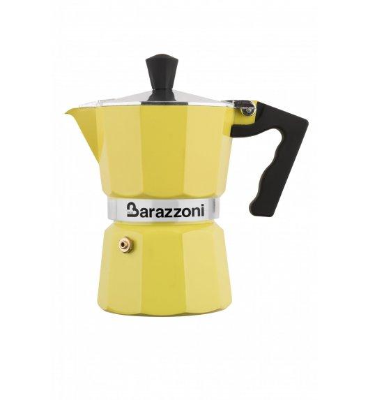 BARAZZONI LA CAFFETERIA Kawiarka na 3 filiżanki / żółta / aluminium