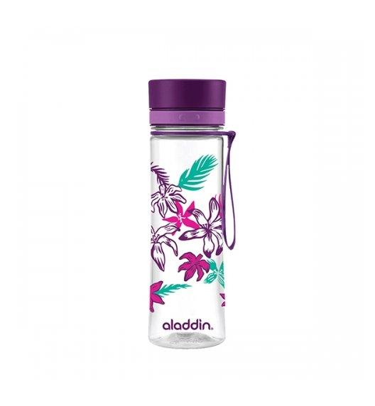 ALADDIN AVEO Butelka z graficznym motywem / 600 ml / fioletowa