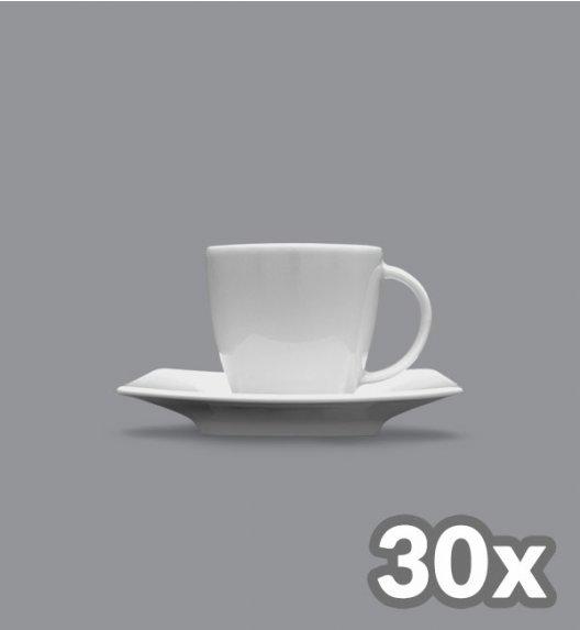 LUBIANA VICTORIA 30 x Filiżanka espresso 90 ml + spodek / cena netto 8 zł / szt.