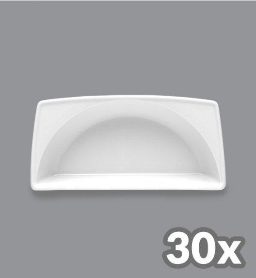 LUBIANA VICTORIA 30 x Rawierka półokrągła głęboka 21 cm / porcelana
