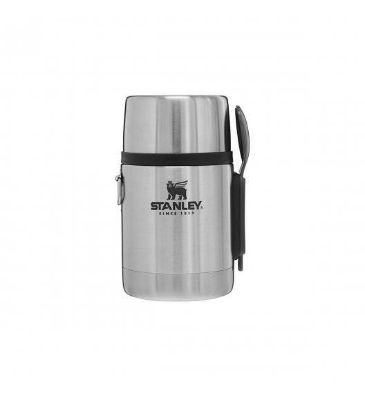 STANLEY ADVENTURE Termos obiadowy ze sztućcami 530 ml / srebrny