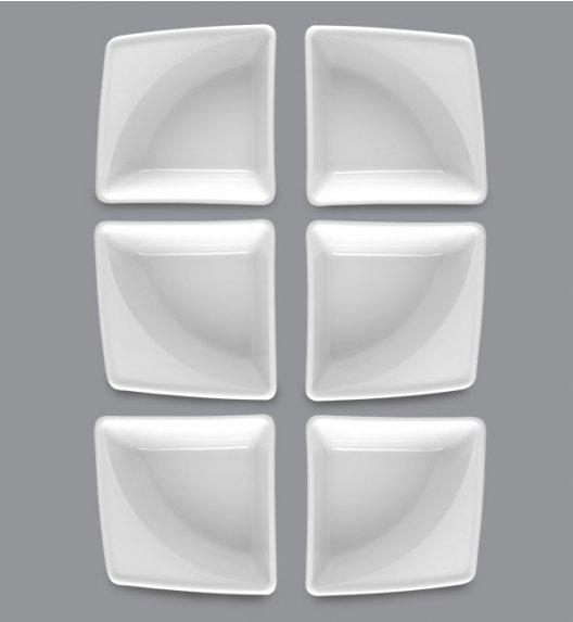 LUBIANA VICTORIA 6 x Naczynie do przystawek 10 x 10 cm / porcelana