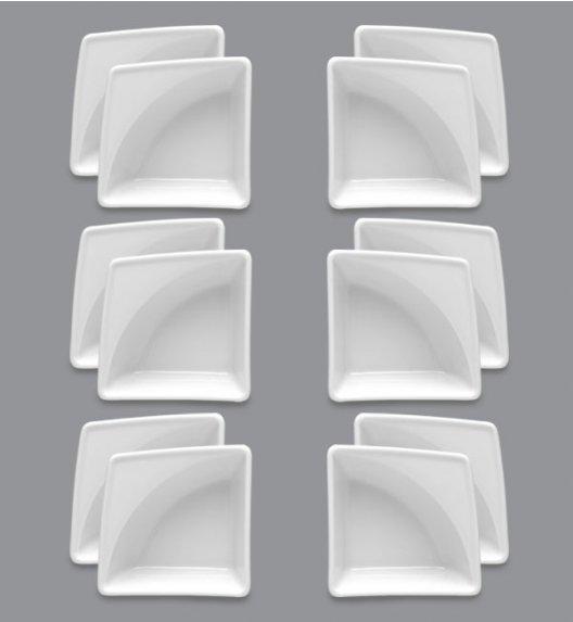 LUBIANA VICTORIA 12 x Naczynie do przystawek 10 x 10 cm  / porcelana