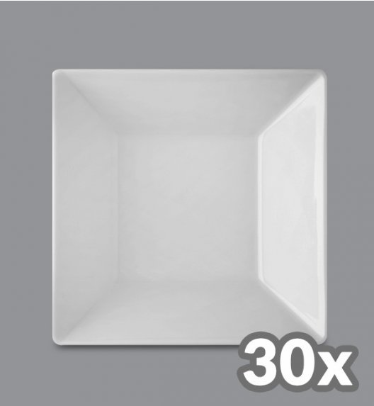 LUBIANA CLASSIC 30 x Talerz głęboki 18,5 cm / porcelana