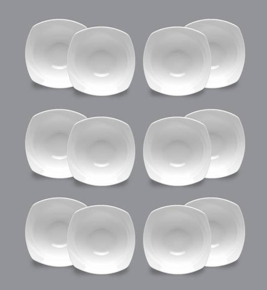 LUBIANA CELEBRATION Komplet Salaterka / miska 14,5 cm / 12 el / 12 os / porcelana