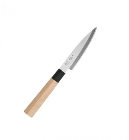 STELLAR SAMURAI Nóż Yanagiba 12 cm / stal nierdzewna + drewno klonowe