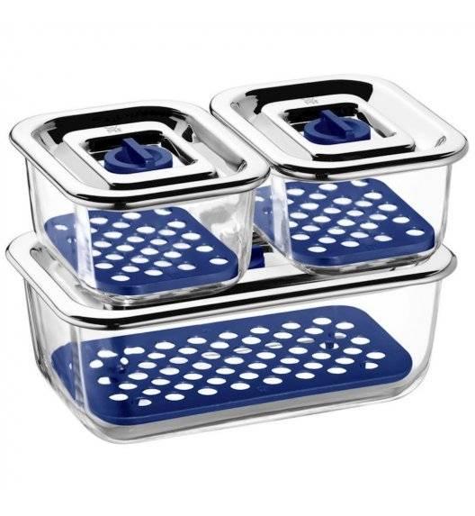 WMF TOP SERVE Zestaw 3 pojemników na żywność / szkło