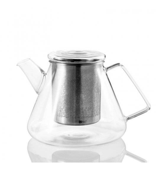 ADHOC ORIENT Imbryk do herbaty 1,5 L / szkło + stal nierdzewna