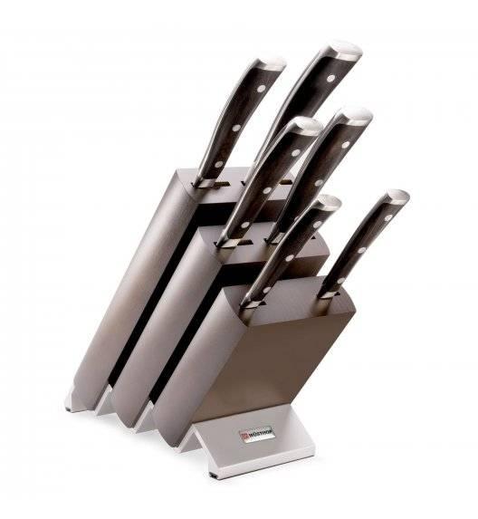 WÜSTHOF IKON Komplet 6 noży w bloku / stal kuta