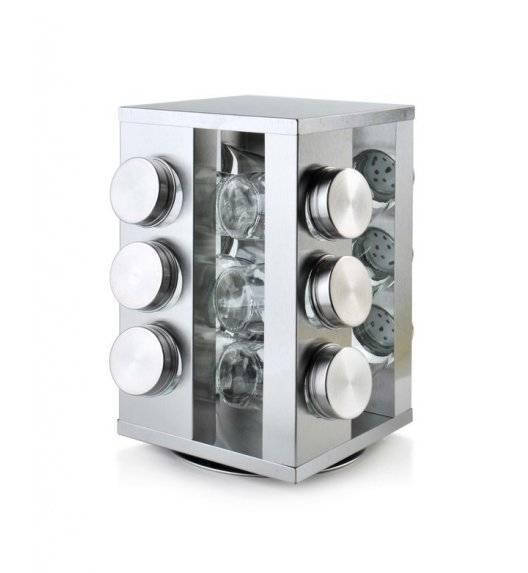 COOKINI BASIC KITCHEN Zestaw na przyprawy 15,3 x 15,3 x 22,5 cm / metal