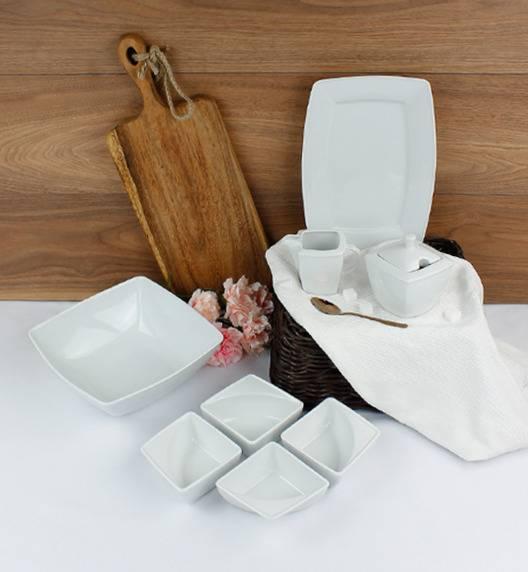 LUBIANA VICTORIA Komplet 8 dodatków serwingowych / porcelana
