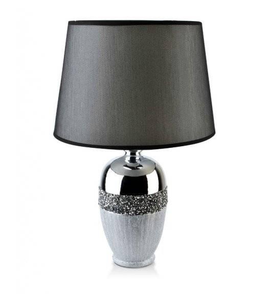 MONDEX LORA Lampa 50 cm / srebrna / ceramiczna