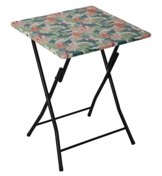 PATIO FLOWER TROPICAL Stół składany 60 x 60 cm / rozkładany