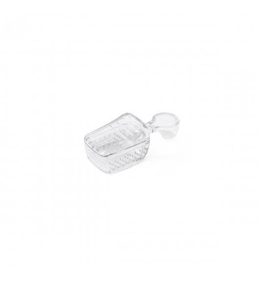 OXO GOOD GRIPS POP2  Szufelka z siteczkiem 8,5 x 3,5 cm / transparentna