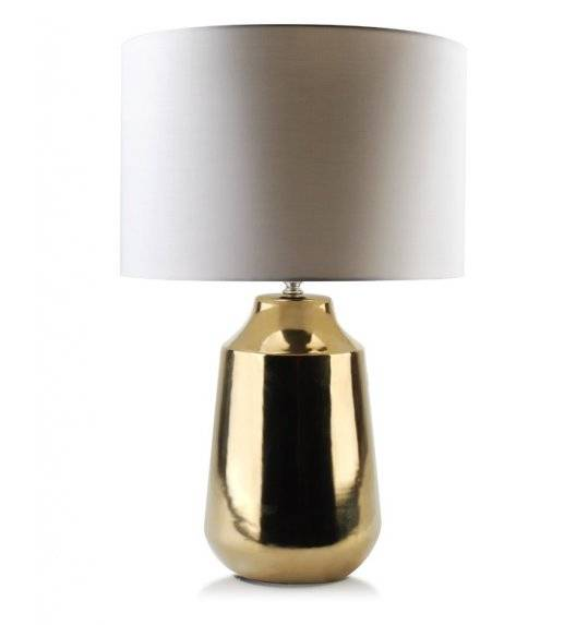 MONDEX DIANA Lampa 55 cm / biało - złota / ceramika
