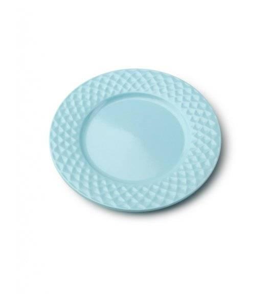 DIAMOND BLUE Talerz deserowy 20,5 cm / niebieski