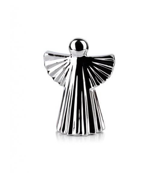 MONDEX ANGEL Figurka 8 x 10,7 cm / srebrna / ceramika