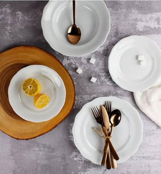 KRISTOFF ALASKA Serwis obiadowy 54 el / 18 osób / porcelana