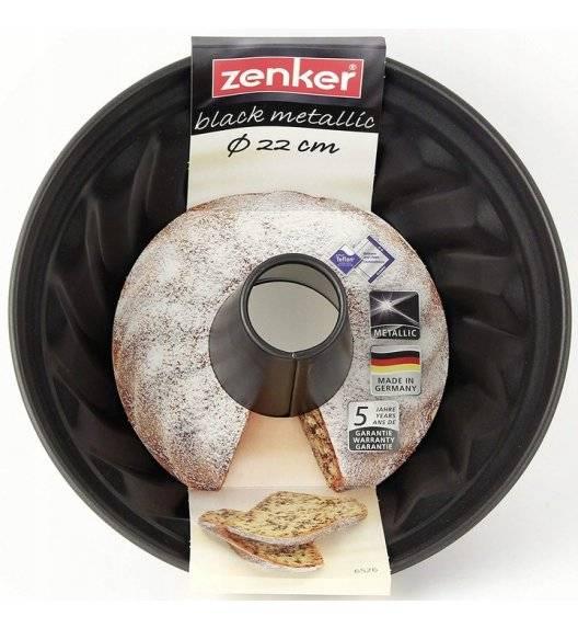 ZENKER Forma na babkę 22cm  / tworzywo sztuczne / powłoka Teflon Black