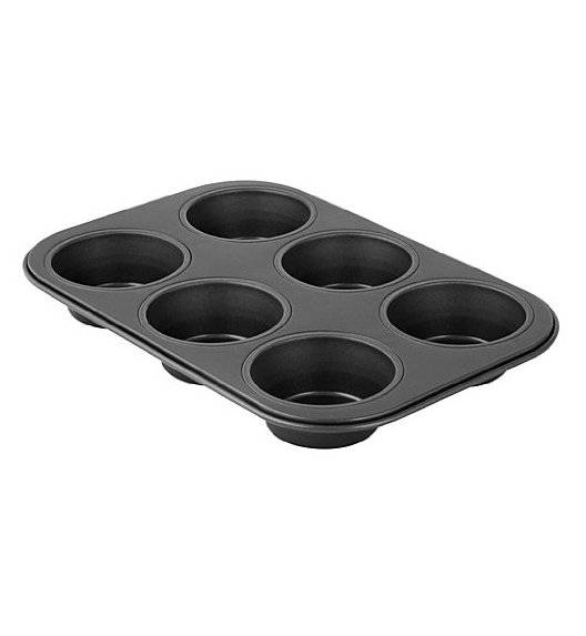 ZENKER Forma do muffinek / 6 sztuk/ wymiary 26x18 cm / tworzywo sztuczne